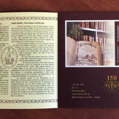 Romania - Album Filatelic 2011 - Nr.Lista 1908b - 150 ani Astra Sibiu