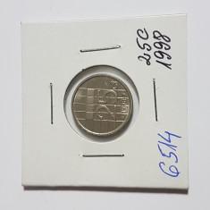 6514 OLANDA 25 CENTI 1998, Europa