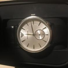 Ceas ARMANI - ceas barbati, elegant, fond alb cu negru, - Ceas barbatesc Armani, Mecanic-Automatic