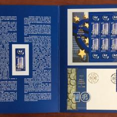 Romania - Album Filatelic 2008 - nelistat - BCE 10 ani