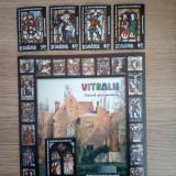 ROMANIA(C042) - L.P. 1910 - VITRALII 1 - serie + bloc stampilat