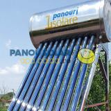 Panou solar apa calda INOX nepresurizat 100 litri - cu automatizare