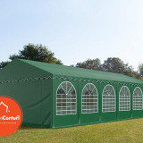 Cort Evenimente 6x12 m Profesional 2 m Verde inchis - Decoratiuni nunta