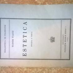 Tudor Vianu - Estetica {1945}