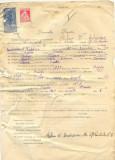 Z294 DOCUMENT VECHI -SCOALA COMERCIALA , BRAILA -STEFAN V. ANDREESCU -AN 1925