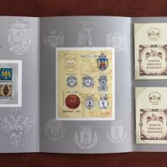 Romania - Album Filatelic 2008 - Nr. Lista 1818 - Insemne Heraldice Romanesti