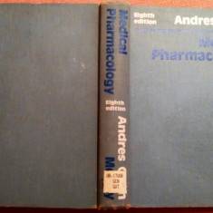 Medical Pharmacology. Principles And Concepts  -  Andres Goth, Alta editura