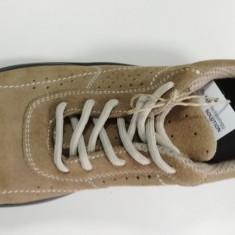 Pantofi de protectie BECKER S1p Src, 35 - 44, 46 - 48, Bej, Piele intoarsa