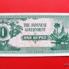 BURMA - 1 Rupee 1942 - Ocupatie Japoneza - aUNC - bancnota asia