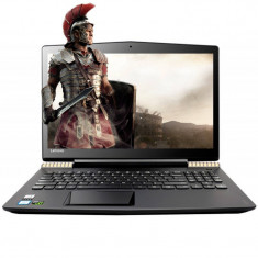 Laptop Lenovo Legion Y520-15IKBN 15.6 inch FHD Intel Core i7-7700HQ 16GB DDR4 256GB SSD nVidia GeForce GTX 1050 Ti 4GB Black Gold - Laptop Asus