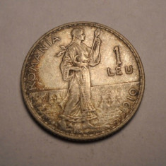 1 leu 1910 Patina Frumoasa - Moneda Romania