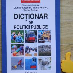 Dictionar de politici publice Laurie Boussaguet