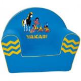 Fotoliu din burete copii 6Luni - 3Ani Knorrtoys albastru Yakari - Masuta/scaun copii