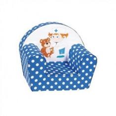 Fotoliu din burete copii 6 Luni -3Ani Multicolor Teddy Doc - Masuta/scaun copii