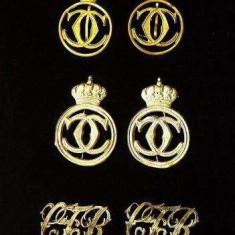 Insigne - Insemne REGALISTE CHIPIU - cascheta - regele CAROL II - ORIGINALE! - Insigna