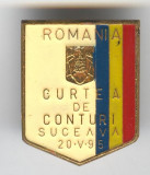 Curtea de Conturi - Suceava - Insigna Romania
