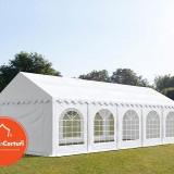 Cort Evenimente 4x10 m Premium 2 m Alb - Decoratiuni nunta