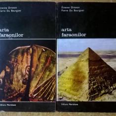 E. Drioton, P. Du Bourguet – Arta faraonilor {2 volume}
