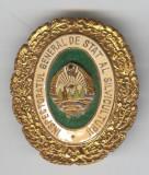 Inspectoratul general al SILVICULTURII - Insigna Romania 1970