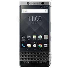 Smartphone BlackBerry KEYone, 4.5 Inch FullHD, Octa Core, 3 GB RAM, 32 GB, Android Nougat, QWERTY, Argintiu - Telefon BlackBerry