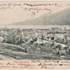 Verciorova (Varciorova) - Judetul Caras Severin - expediat 1903 Viena - Carte Postala Banat 1904-1918, Circulata, Fotografie