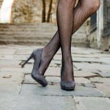 Pantofi dama Astri gri