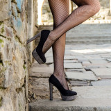 Pantofi dama Amo negri