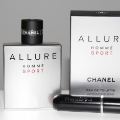 Chanel Allure Homme Sport 5ml in atomizer Travalo - Parfum barbati Chanel, Apa de toaleta, Mai putin de 10 ml