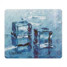 Mousepad Logilink ID0152 3D Ice Cube Blue