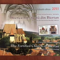 Romania - Album Filatelic 2011 - Nr.Lista 1916c - Biserica Fortificata BIERTAN