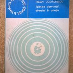 Traian Costachescu – Tehnica sigurantei zborului in aviatie