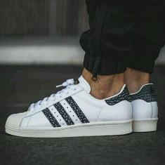 Adidasi Adidas Superstar 80' -Adidasi Originali-Adidasi barbati S75847, Marime: 45 1/3, Culoare: Din imagine