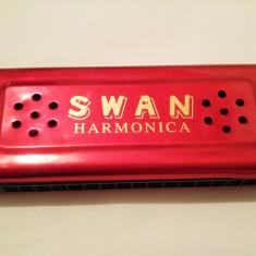 Muzicuta (harmonica) dubla SWAN, 13x5, 5 cm