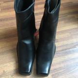Papuci piele - Papuci dama