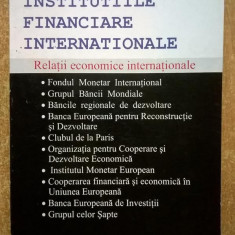 A. F. P. Bakker - Institutiile financiare internationale