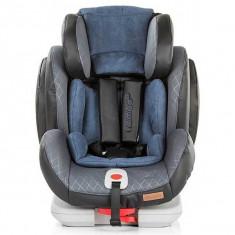 Scaun auto Chipolino Nomad 9-36 kg Blue Indigo cu sistem Isofix - Scaun auto copii