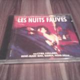 CD LES NUITS FAUVES-EXTRAITS DE LA BANDE ORIGINALE DU FILM DE CYRIL COLLARD 1992 - Muzica soundtrack