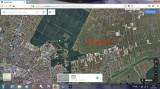 Vând 2 parcele de 654 mp, com. Ghiroda, pe drumul către Giarmata Vii, Teren intravilan