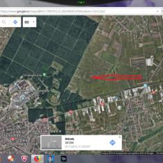 Vând 2 parcele de 654 mp, com. Ghiroda, pe drumul către Giarmata Vii - Teren de vanzare, Teren intravilan