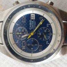 Casio Edifice cronograf - Ceas barbatesc Casio, Quartz