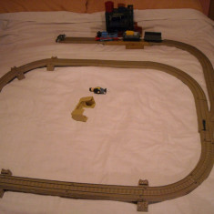 Tomy - Thomas and Friends - Trackmaster - Setul SODOR GRAIN and HAY CO cu linii