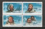S.U.A.1986 Exploratori polari  bloc 4 SU.586