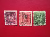 TIMBRE ROMANIA 1919 OCUPATIA PROCUTIA SERIE STAMPILATA