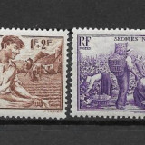 Franta 1940, Nestampilat