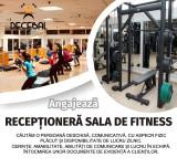 Decebal Fitness angajeaza receptionera sala fitness