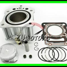CILINDRU ATV 200 200cc LIFAN LONCIN ZONGCHEN 63.5MM Racirea Apa Zs200 - Set cilindri Moto