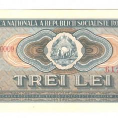 SV * Romania R.S.R. 3 LEI 1966 AUNC+++ RAR !!! - Bancnota romaneasca