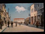 BAZARGIC - PIATA PACEI SI OFICIUL POSTAL - DOBROGEA - ROMANIA MARE - ANUL 1926, Circulata, Fotografie
