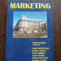 Marketing - Virgil Balaure - Carte Marketing