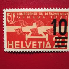 ELVETIA 1936 SERIE=MH, Nestampilat